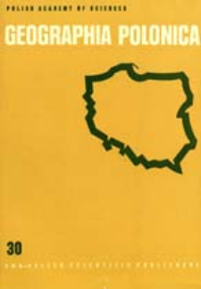 Geographia Polonica 30 (1975)