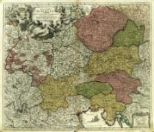 Germania Austriaca complectens S. R. I. Circulum Austriacum ut et reliquas in Germania Augustissimæ Domui Austr. devotas Terras Hæreditarias
