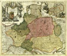 [Polonia, Lithuania, Borussia et Pomerania : mapa ogólnogeograficzna]