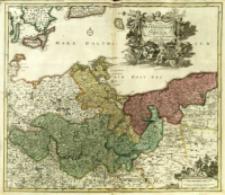 Tabula Marchionatus Brandenburgici et , Ducatus Pomeraniæ quæ sunt Pars Septentrionalis Circuli Saxoniæ Superioris