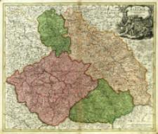 Regni Bohemiæ Ducatus Silesiæ, Marchionatus Moraviæ et Lusatiæ Tabula Generalis