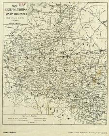 Mapa Królestwa Polskiego i krajów okolicznych