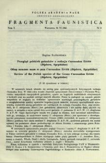 Przegląd polskich gatunków z rodzaju Cnemodon Egger (Diptera, Syrphidae) = Obzor pol'skih vidov iz roda Cnemodon Egger (Diptera, Syrphidae)