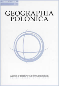 50 years of Geographia Polonica in the light of citations