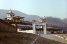 Hinduistyczny aszram w Riszikesz (Dokument ikonograficzny)