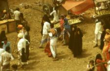 Rural market during Mommai Mata festival (Iconographic document)