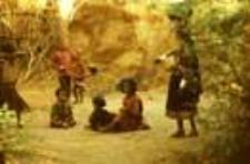 Children from villages inhabited by wagadhi rabari (Iconographic document)