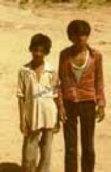 Portrait of two boys (Iconographic document)