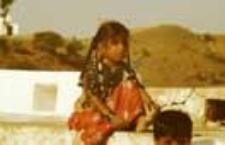 Portrait of a girl, kachchi rabari (Iconographic document)