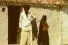 Portrait of a couple, kachchi rabari (Iconographic document)