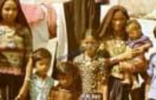 Portret kobiet i dzieci, pasterze kachchi rabari (Dokument ikonograficzny)
