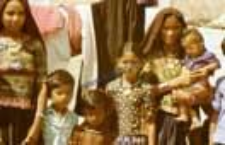 Portrait of women and children,kachchi rabari (Iconographic document)