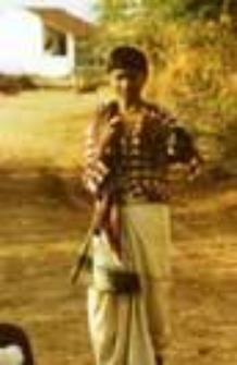 Portret pasterza wagadhiya rabari (Dokument ikonograficzny)