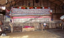 Interior of the cottages, rabari from Sindh, Pakistan (Iconographic document)