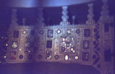 Interior of a cottage, kachchi rabari (Iconographic document)