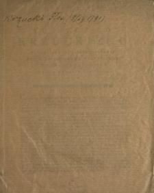 Głos Ignacego Krzuckiego Towarzysza Kawaleryi Narodowey Posła Woiewodztwa Wołynskiego, Na Sessyi Seymowey Dnia 9 Grudnia 1791 Roku Miany