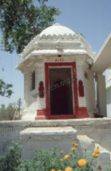 Hindu shrine in Sindh, Pakistan (Iconographic document)