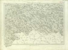 Bl. 28. Umgebungen von Grybów, Gorlice und Żmigrod