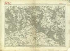 Bl. 32. Umgebungen von Bóbrka, Przemyślany, Chodorów und Rohatyn