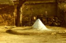 Ołtarzyk, siedziba bóstwa (deri) (Dokument ikonograficzny)