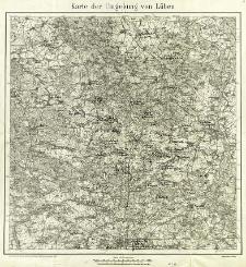 Karte der Umgebung von Lüben
