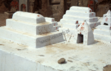 Grobowiec hinduistycznego ascety kapadi (Dokument ikonograficzny)