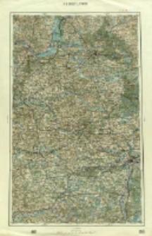 """Operationskarte """"R"""" : im Maße 1:400 000. H 3. Brest Litowsk"""