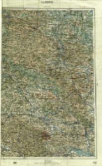 """Operationskarte """"R"""" : im Maße 1:400 000. H 4. Przemyśl"""