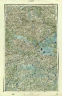 "Operationskarte ""R"" : im Maße 1:400 000. J 3. Kobrin"
