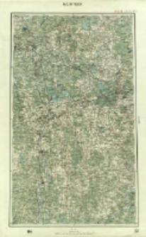 """Operationskarte """"R"""" : im Maße 1:400 000. M 2. Witebsk"""