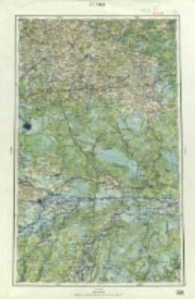 "Operationskarte ""R"" : im Maße 1:400 000. K 3. Pinsk"