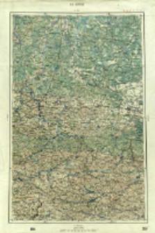 "Operationskarte ""R"" : im Maße 1:400 000. K 4. Ostrog"