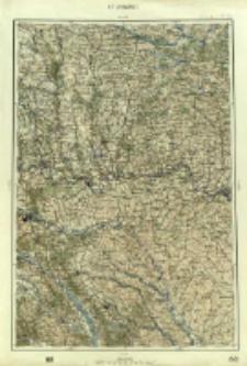 "Operationskarte ""R"" : im Maße 1:400 000. K 5. Czernowitz"