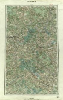 "Operationskarte ""R"" : im Maße 1:400 000. N 2. Smolensk"