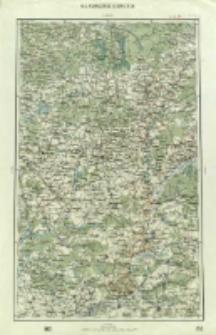"""Operationskarte """"R"""" : im Maße 1:400 000. N 3. Nowgorod Siewiersk"""