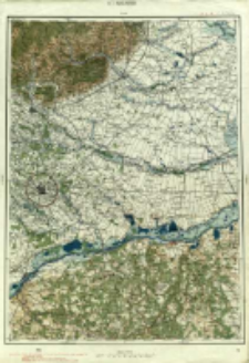 "Operationskarte ""R"" : im Maße 1:400 000. K 7. Bucureşti"