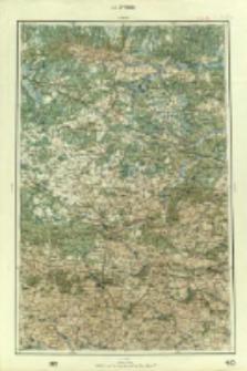 "Operationskarte ""R"" : im Maße 1:400 000. L 4. Żytomir"