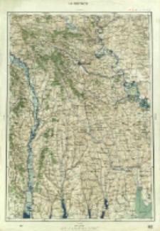 "Operationskarte ""R"" : im Maße 1:400 000. L 6. Kiszyniew"