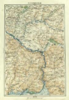 """Operationskarte """"R"""" : im Maße 1:400 000. O 5. Jaketierinosław"""