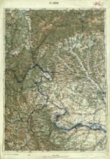 "Operationskarte ""R"" : im Maße 1:400 000. H 7. Orsova"