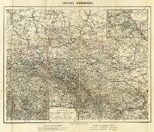 Karte von Schlesien Nebst Special-Karte vom Riesengebirge und Hütten-Karte der Gegend um Beuthen