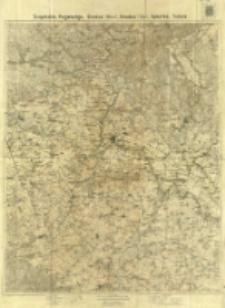 Szopotzkin, Porjetschje, Grodno (West), Grodno (Ost), Sokołka, Indura / Bearbeitet in der Kartogr. Abteilung des Stellvertretenden Generalstabes der Armee