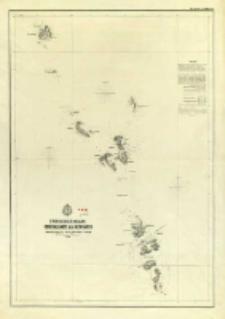 Indischer Ocean, Generalkarte der Nicobaren