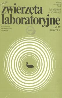 Zwierzęta laboratoryjne, Tom XII zeszyt 2 = Laboratory animals