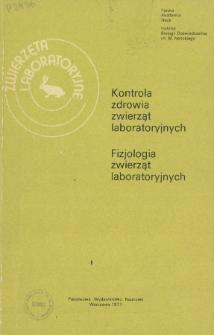 Zwierzęta laboratoryjne, Tom XIV zeszyt 1 = Laboratory animals