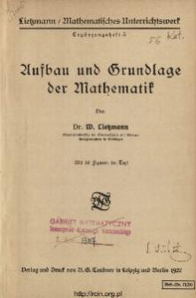 Aufbau und Grundlage der Mathematik
