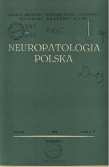 Neuropatologia Polska T.7 z.1-2 (1969)
