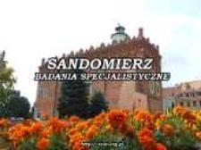 Sandomierz : badania specjalistyczne