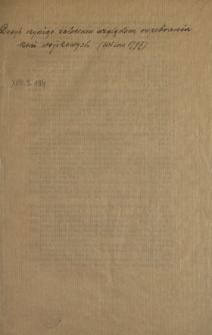 [Obwieszczenie w sprawie odebrania koni wojskowych przez ludność powiatu wileńskiego] : [Inc.:] Dosyć czyniąc zaleceniu względem rozebrania koni Woyskowych Podjemnych od Rządu Gubernskiego Litt. de datta 1797 Mca Julii 13/24 wydanemu [...] : [Dat.:] Datt w Wilnie 6/17 [!] 1797 Roku [...]
