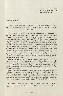 Czeskie stronnictwa polityczne wobec stosunków polsko-rosyjskich w końcu XIX i na początku XX w. (do 1914 r.)